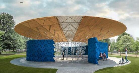 蛇形画廊2017年户外展馆设计迎来首位非洲建筑师