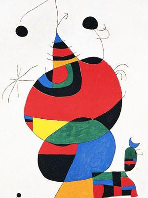 向超现实主义绘画大师米罗致敬