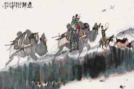屈健:长安画派培育了陕西当代中国画的创作队伍