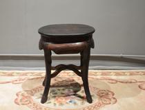 花梨木蛋形圆凳