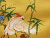 刘庆杨 院体细笔花鸟