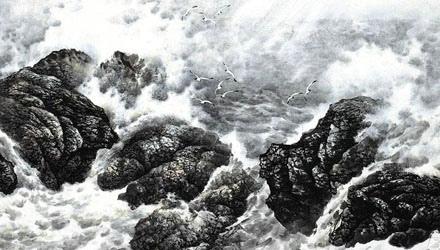 中国海洋画不倦的探索者和推动者——宋明远