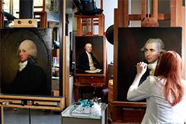 【雅昌讲堂3750期】Gabriella Forcucci:意大利架上绘画功利性恢复研究的案例