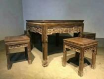 红木家具桌椅组合