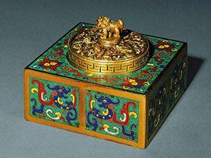 铜墨盒:最后文玩到文房收藏新秀