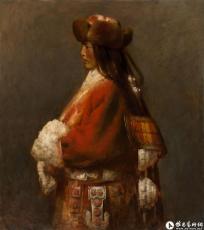 青海湖边的藏族姑娘^_^Tibetan Girl by Qinghai Lake
