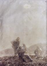 冬日晨曦(中国首届油画展金奖排名第一)
