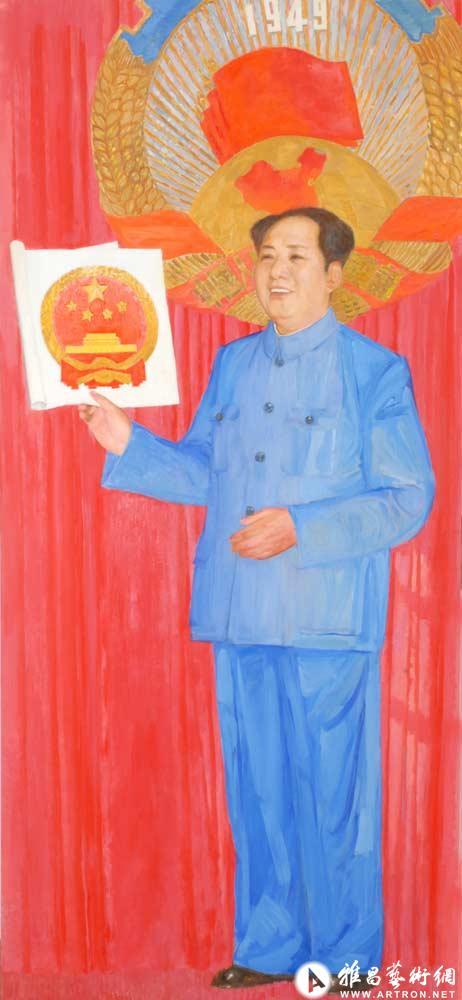 开国元勋毛泽东