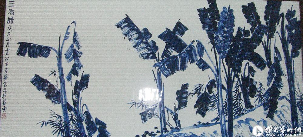 瓷画作品059