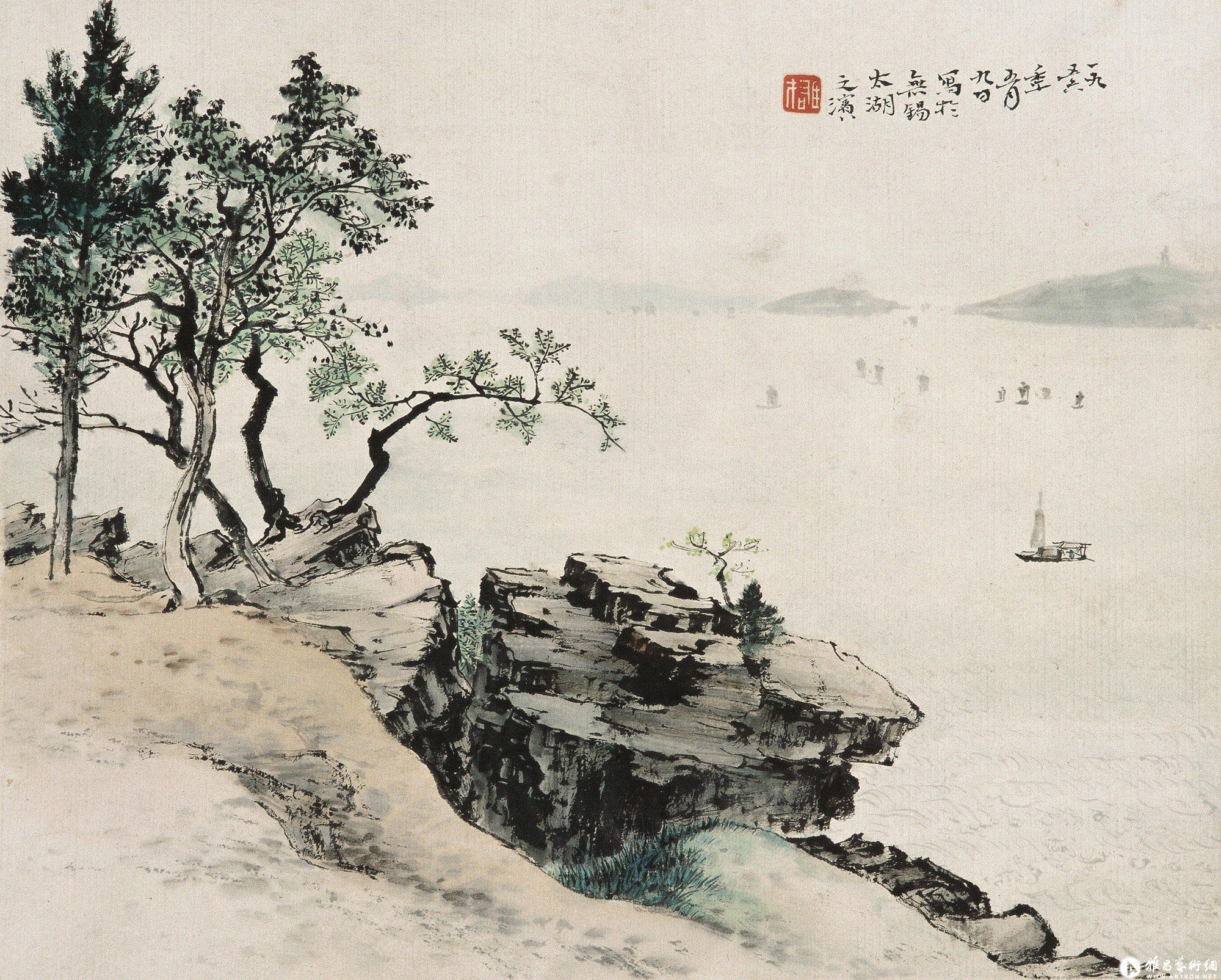 江山胜迹之二:太湖之滨