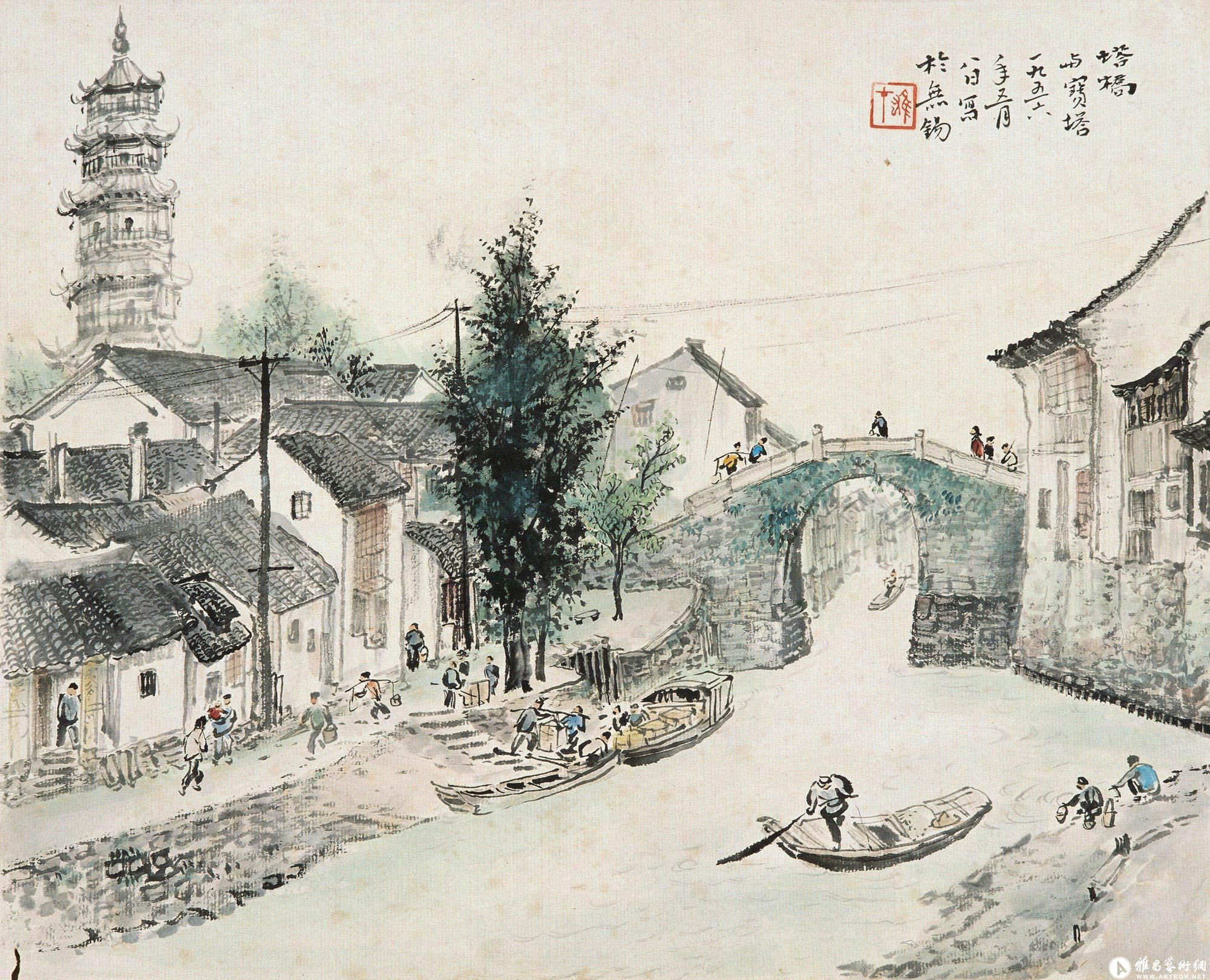 江山胜迹之六:塔桥与宝塔