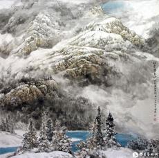初雪落基山--世界名山系列之一