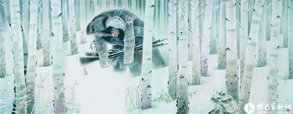 静静的桦林
