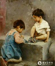 两个小画家