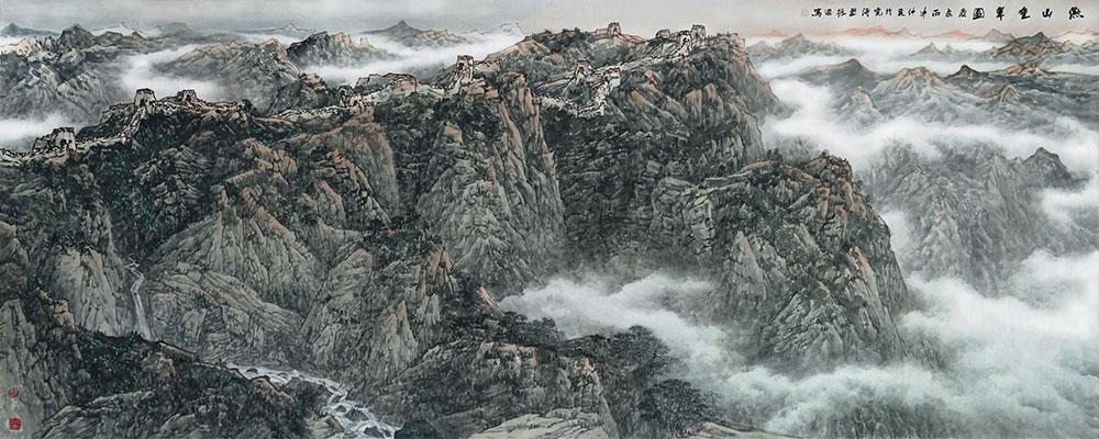 燕山叠翠图