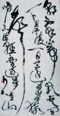 书法作品(24)草书唐李白诗