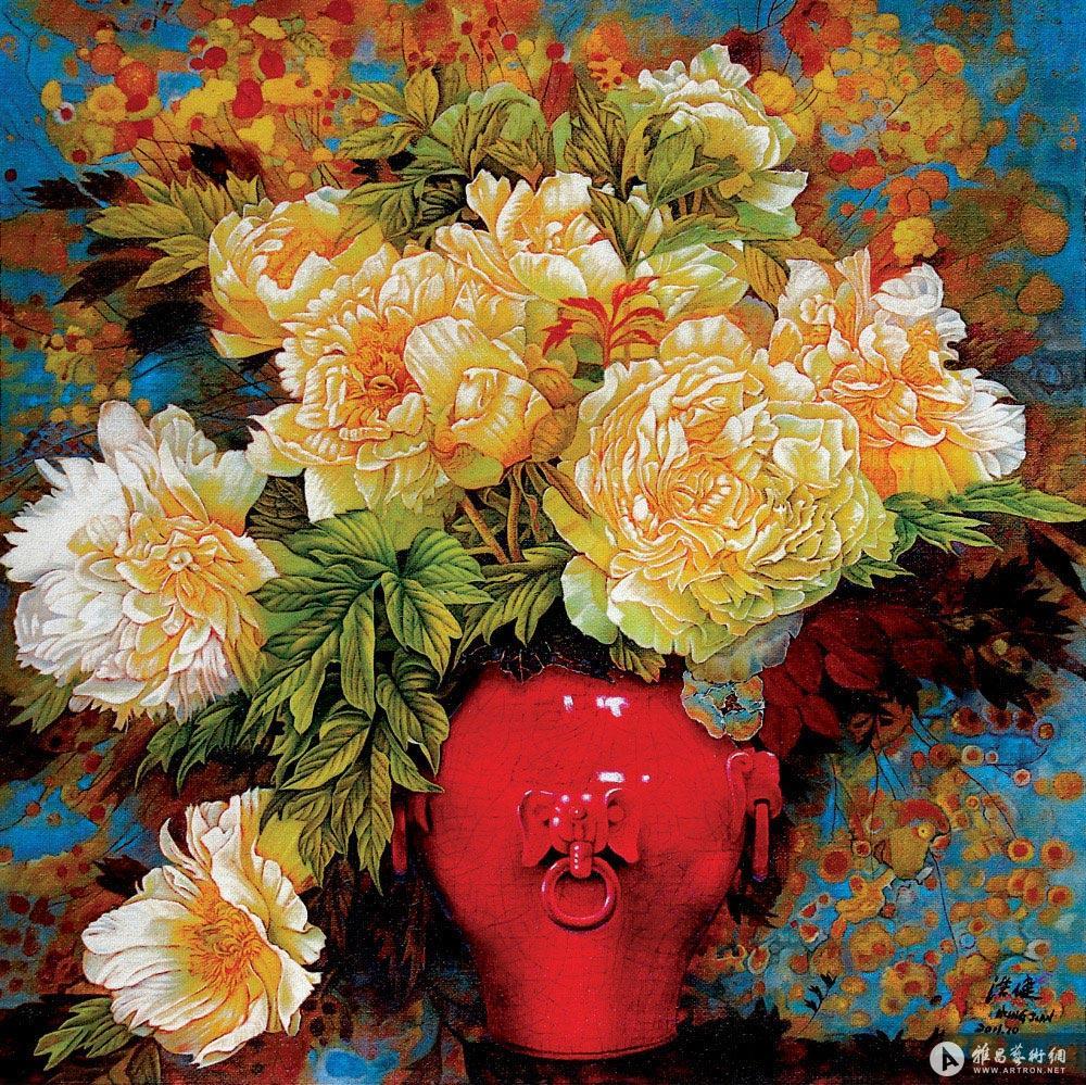 盛世牡丹<br>^_^Mudan Blossoms of Prosperity