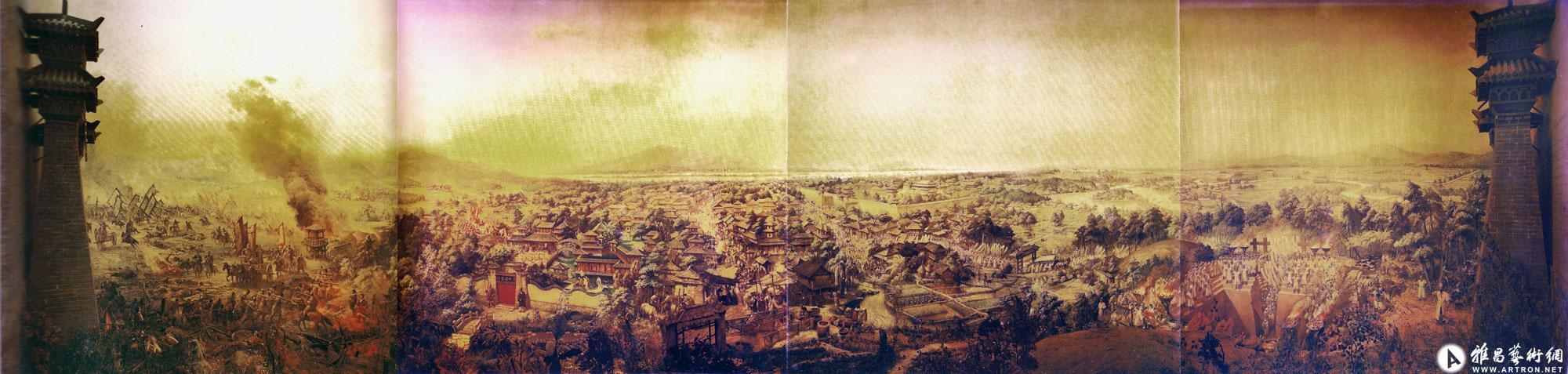 马王堆半景画