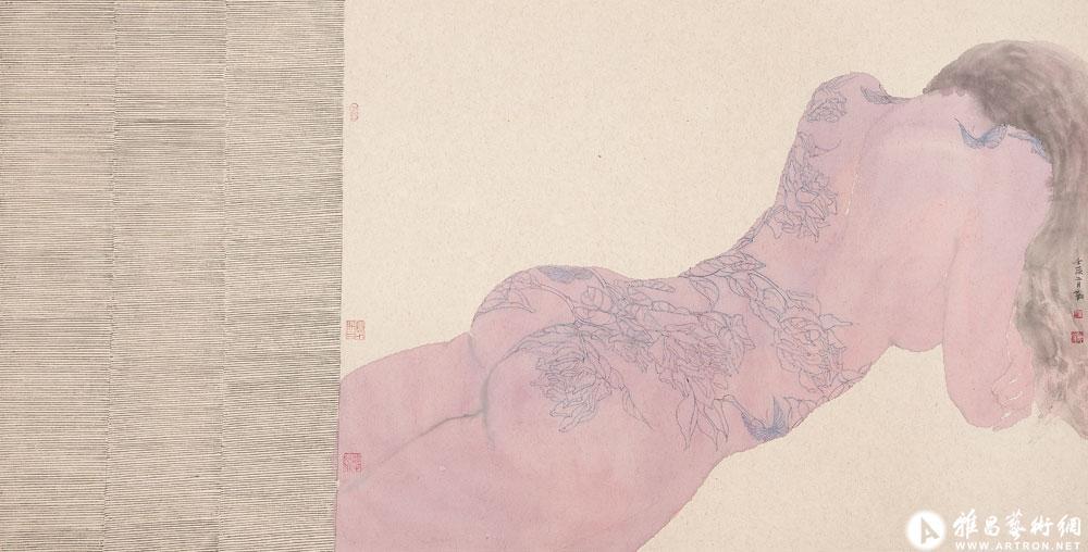 纹身的女人体之二