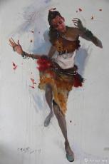 非洲舞蹈系列之一