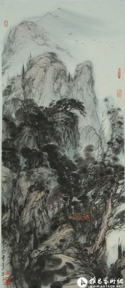 大土三阳作品:岭南夏暮