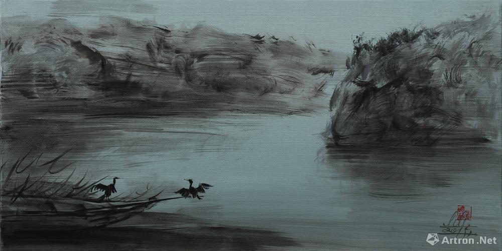 墨系列(74):寂静山谷