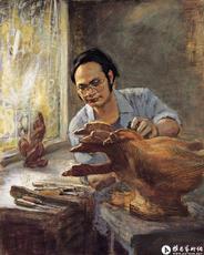 尹秋生和他的木雕艺术