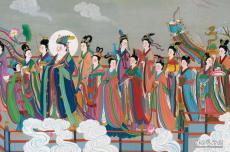 神仙图卷(局部三)