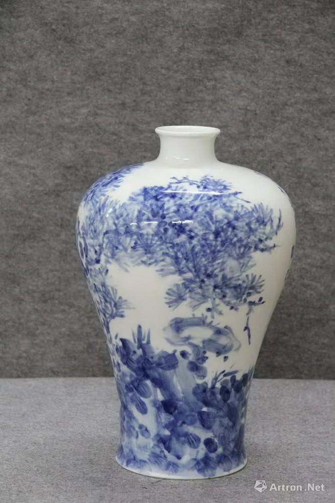 青花瓷瓶30