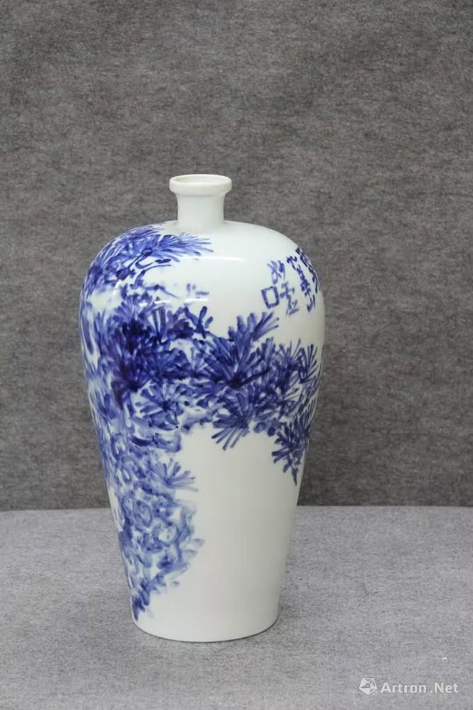 青花瓷瓶34
