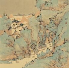 琼瑶仙境册页(1)