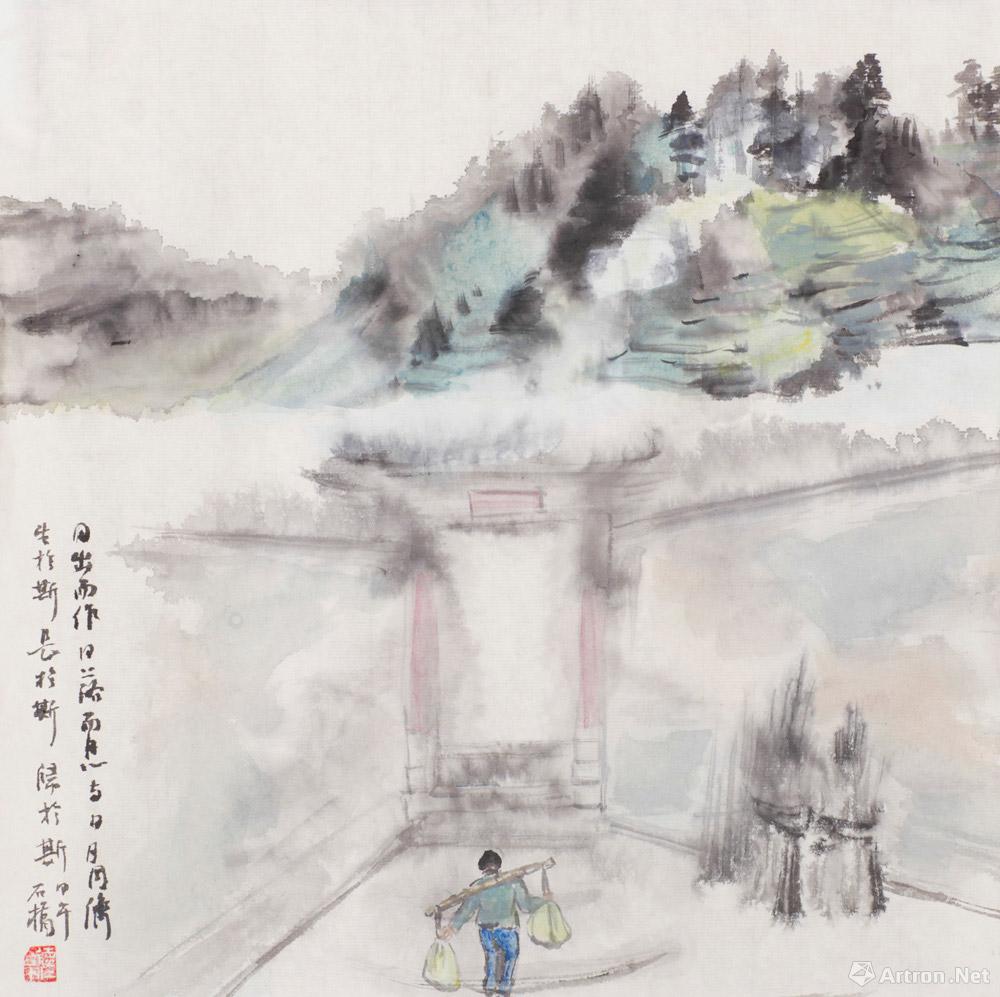 连城写生(14)