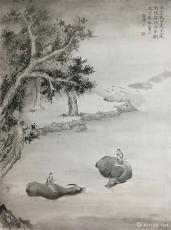 生肖组画·牛