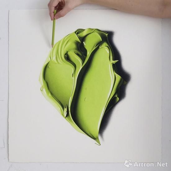 profile|艺术家CJ Hendry创作出超写实色彩颜料