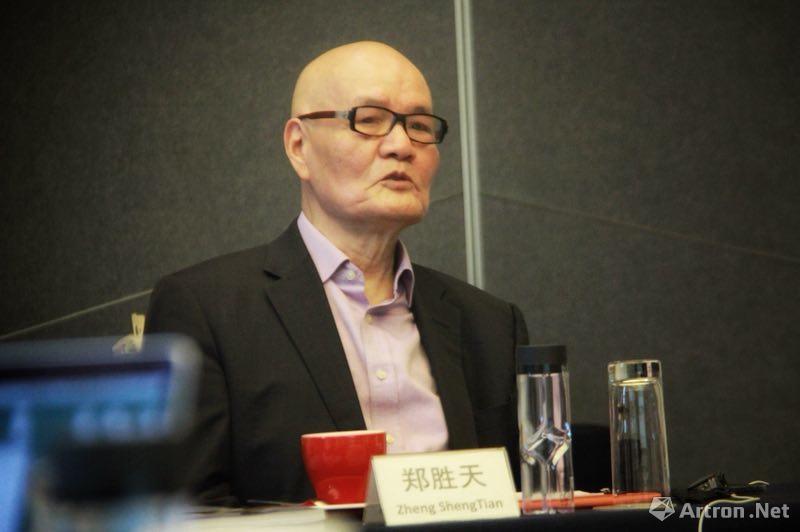 """""""第十二届AAC艺术中国""""评选委员会轮值主席,著名学者、艺术家、策展人 郑胜天"""