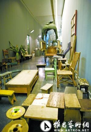 宋冬装置艺术个展:市井大杂院搬进北京798(图)