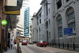 为何香港画廊都扎堆中环?(附图)
