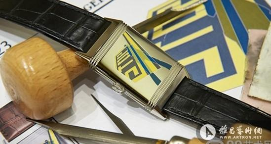 艺术家范·霍恩洛厄为积家跨界设计的Reverso腕表发布