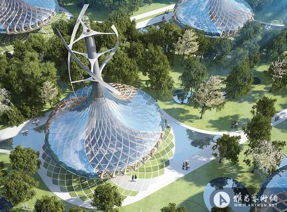 比利时建筑师打造炫目未来生态城