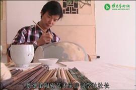 乐知林的陶瓷花鸟艺术