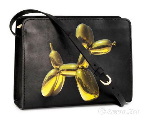 杰夫-昆斯与H&M合作推出手袋