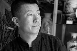 陶瓷艺术家刘一骏的山水花鸟陶瓷艺术