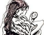 木版画的刻刀--圆口刀