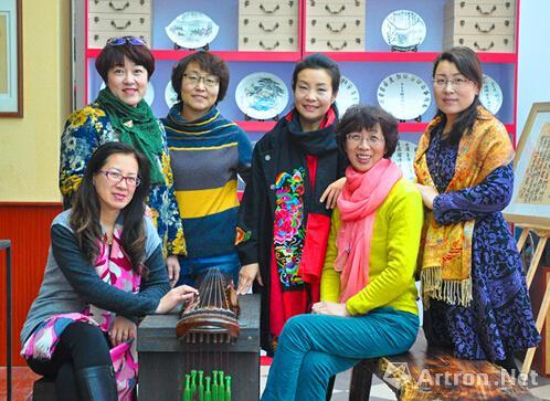 青岛市女书画家协会将举办书画瓷小品澳门葡京注册六人联展