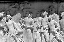 【佳作传世】 滑田友与大型浮雕《五四运动》