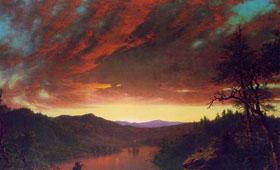 张敢73集:哈得逊河画派代表艺术家