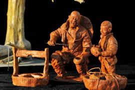 吴德寅:从泥塑看老北京的商贾文化