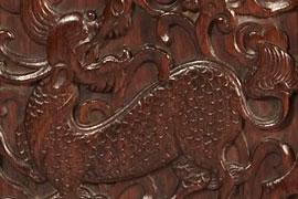 张辉:明式家具上的喜鹊登梅纹 鸾凤呈祥纹 麒麟送子纹